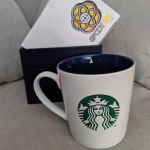 Disney Parks Epcot 35 Starbucks Mug NIB